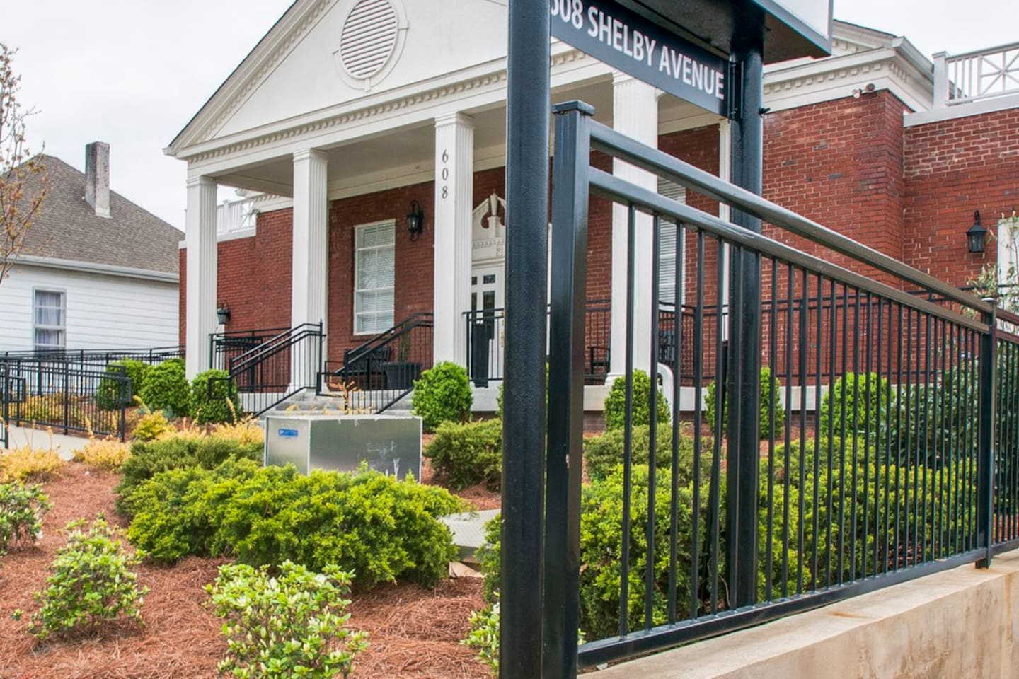 Each condo is attached to this beautifully restored historic church in East Nashville.