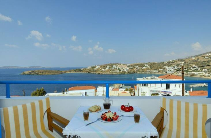 White & Blue Apartment