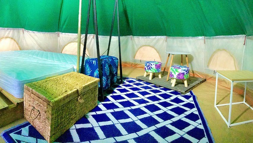Waterfront Glamping Experience ( 2)- Fraser Coast