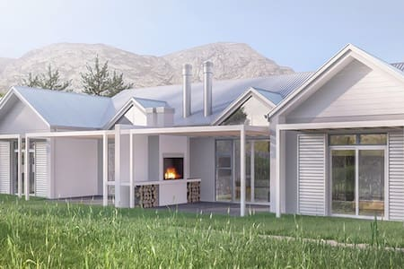 Luxury 2 bedroom ensuite Golf Lodge - Hermanus - Huis