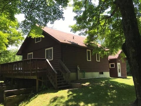 Authentic Northwoods Cabin