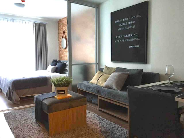 Brand new 1BD condo next to Central Festival - Chiang Mai - Leilighet