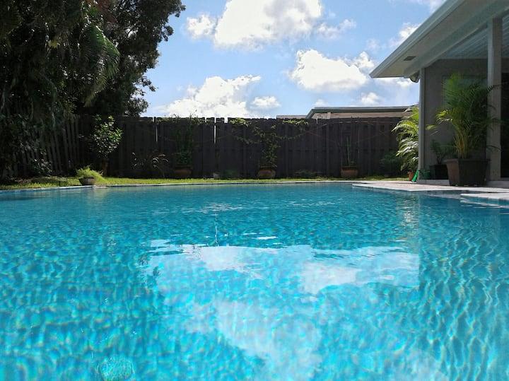 South Florida Studio Swim-out