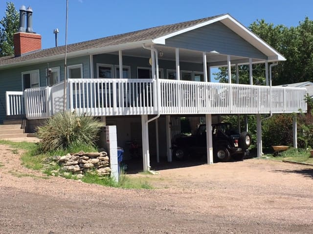 Lakeview home@ Lake McConaughy near Admiral's Cove - Lemoyne - Semesterboende