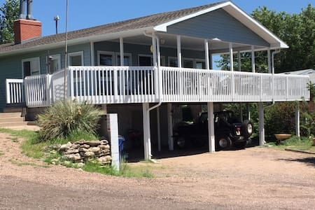Lakeview home@ Lake McConaughy near Admiral's Cove - Lemoyne - Hús