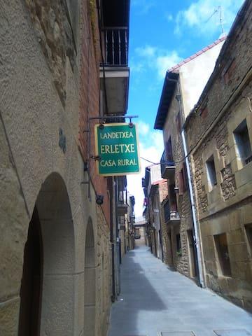 Casa Rural Erletxe, Laguardia, habitación 2