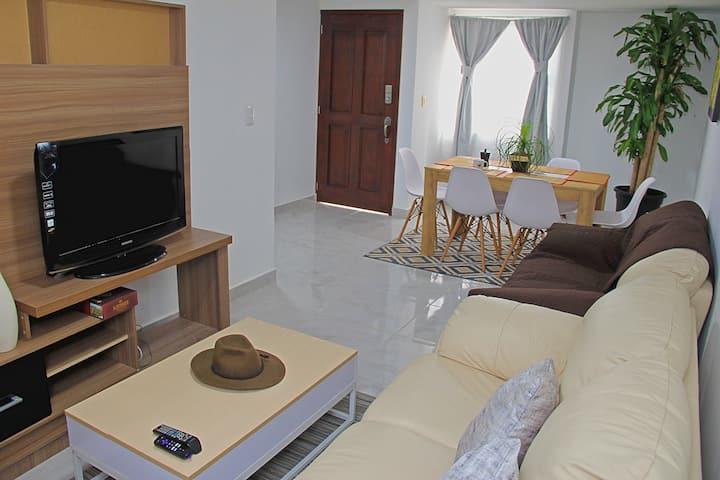 Bright & Cozy Apartment in Oaxaca - Depa Encinos
