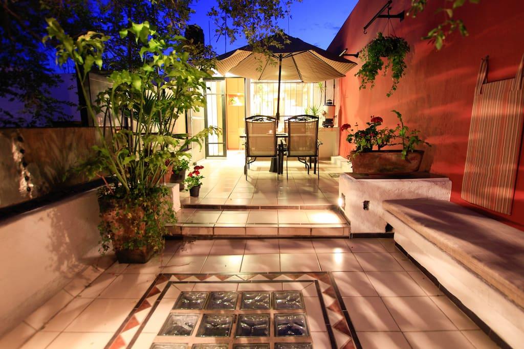 Amazing Private Terrace