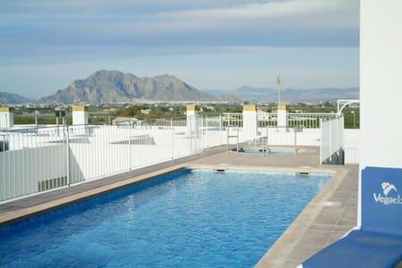 Almoradi, Alicante 2 Bed Apt + Wifi - Almoradi