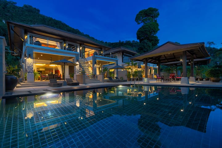 Grand Boutique Villa in Patong❇Full Seaview❇5 BRs