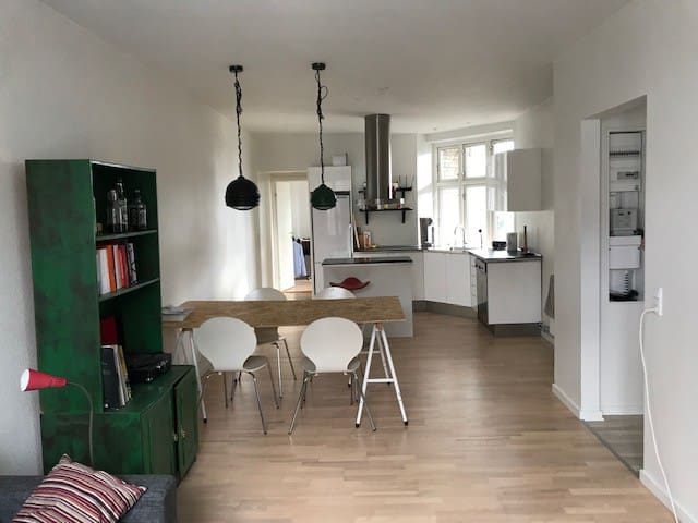 Large apartment in the center of Odense