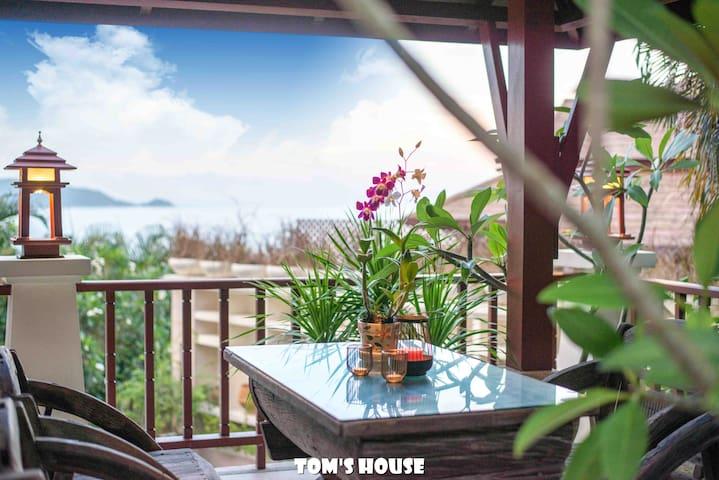 300m to Patong Beach/ Sea View/ Pool Villa/ K3