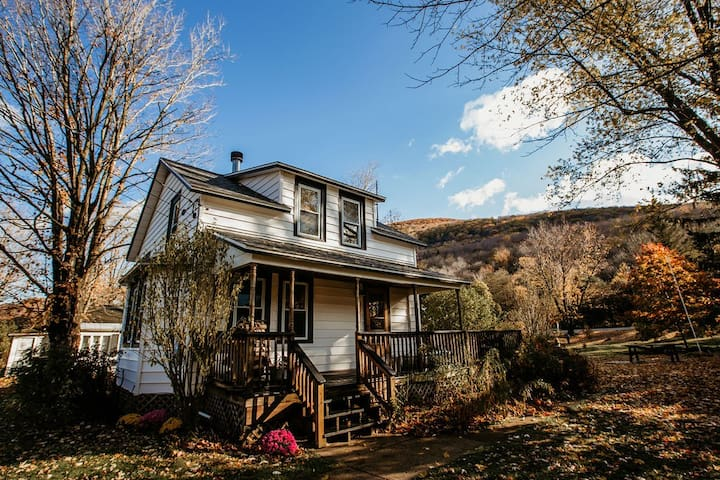 Updated Historic Cottage in Heart of the Catskills