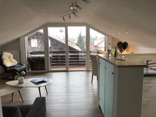 Style & Natur–Wohnung in Salzburghofen-Freilassing