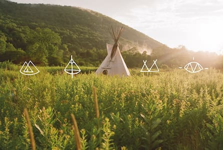 Mystic Lodge- Blue Jay Tipi - Tipi