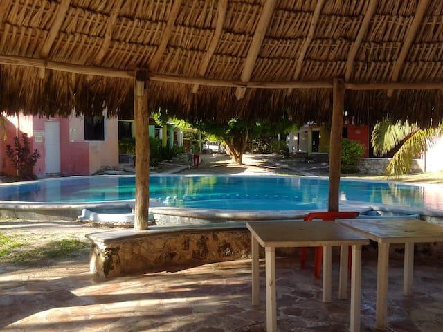 bungalow yucatan el faro - Chelem - Rumah
