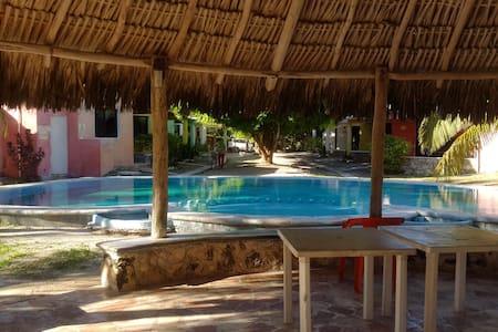 bungalow yucatan el faro - Chelem - 一軒家