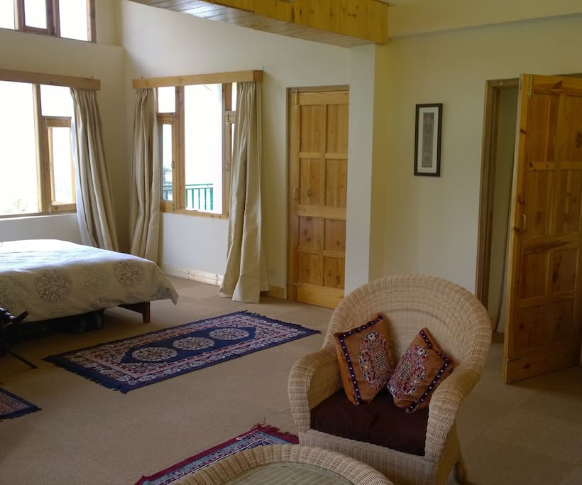 Looking towards bedroom from lounge area