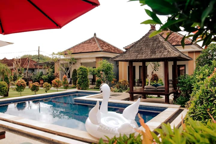One Bedroom UluwatuJungle Villa with Garden View