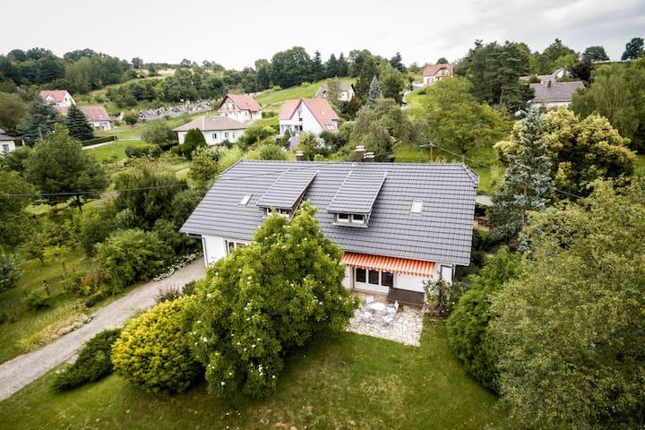 Maison de style vosgien dans village calme - Bourbach-le-Bas - Hus
