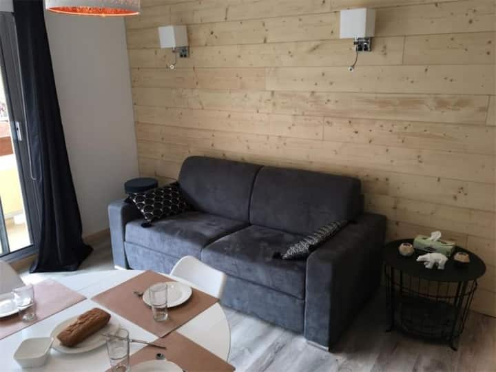 T2 4 pers 4 couchages SAINT-LARY SOULAN