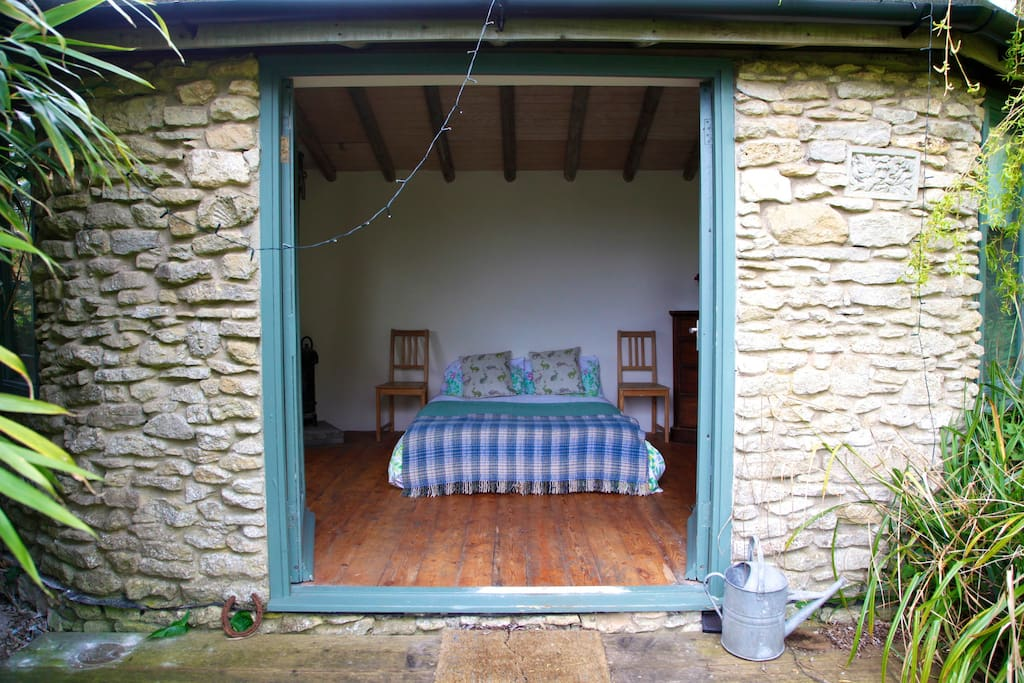 A view into the Summerhouse