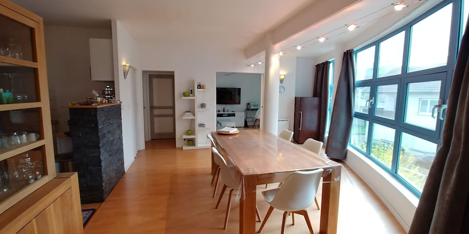 Very nice flat, quiet and spacious