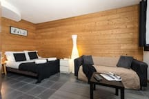 Chamois 706 : studio for 4 persons