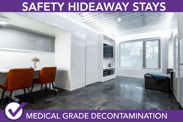 Safety Hideaway - Medical Grade Clean Home 123