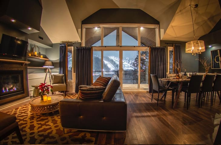 Luxurious mountainside condo - Mont St-Sauveur - Saint-Sauveur - Overig
