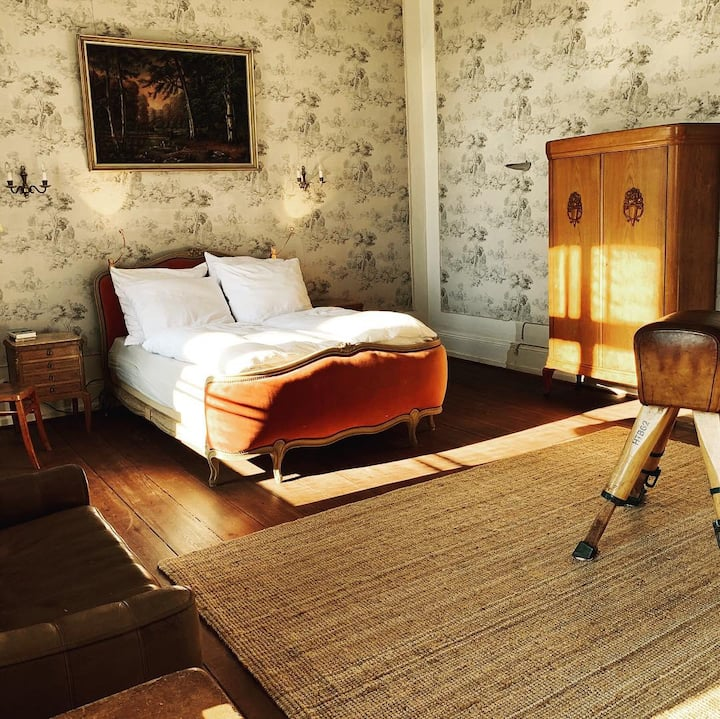 Charmantes Gästezimmer im Herrenhaus für 2 Pers.