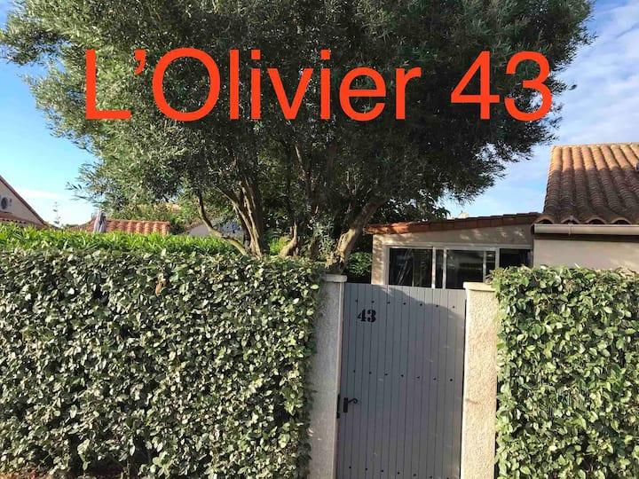 """Villa """"L'Olivier 43"""" en résidence sécurisée,"""
