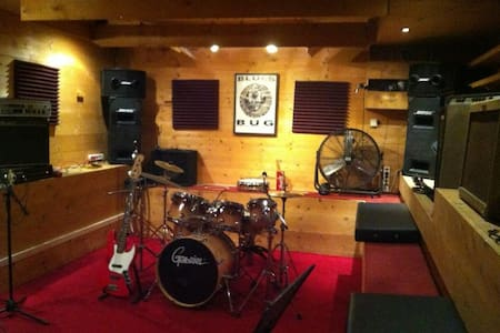 Funky Underground Rehearsal Studio.Fully equipped! - Athene