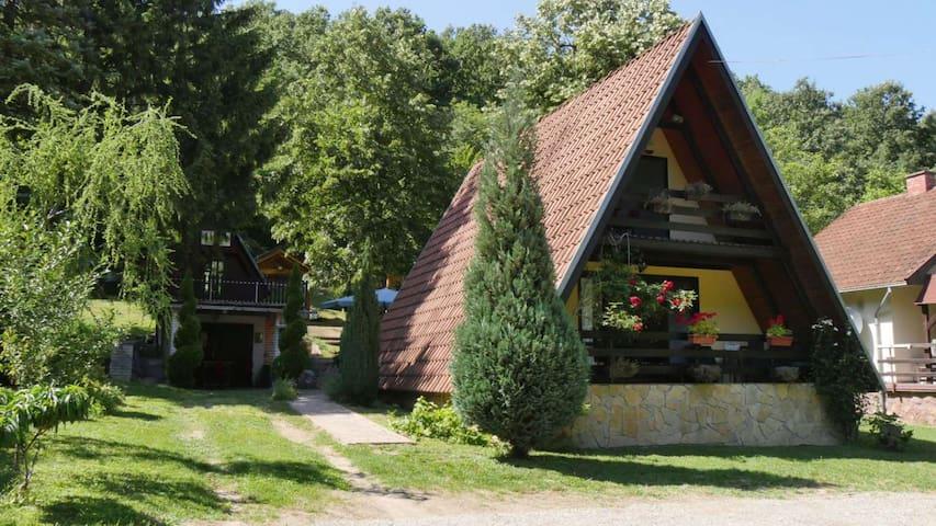 """Planinska kuća """"Zvuk Tišine"""" - Beočin selo"""