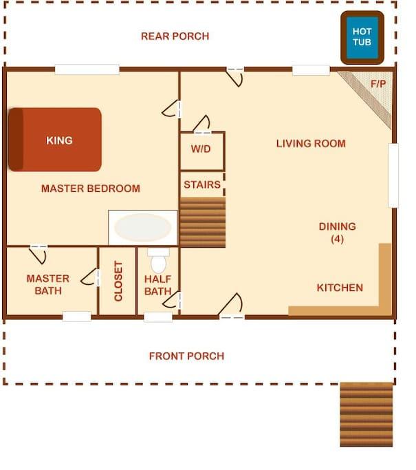 Sweet Surrender-Sweet Surrender Floor Plan