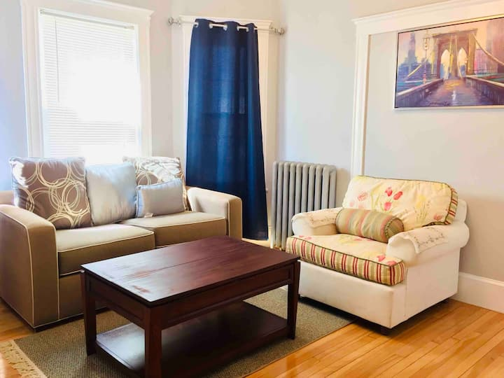 A Cozy 3 Bedroom Home Close To Boston & Parking