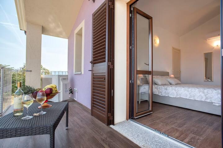 terrazza suite, drink relax.