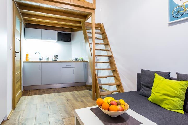 Apartament - studio w sercu Kazimierza
