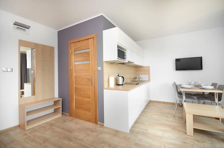 Nowoczesny apartament z balkonem, 50m od morza! 5 - Jastarnia