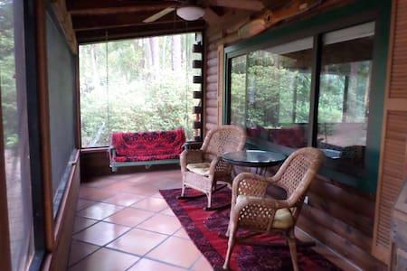 Apopka, FL, Log home in a Botannical Wonderland - Apopka