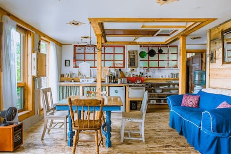 Organic Farm Artistic Spacious Four-Bed Eco-Loft