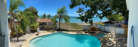 Дом на пляже Фарах