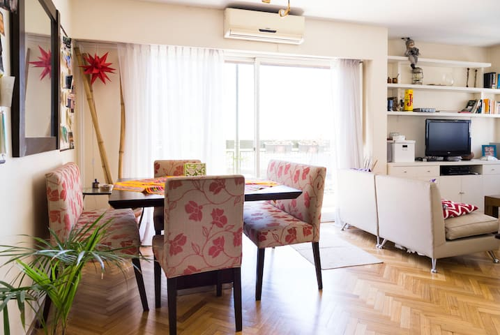Luminous apartment ideally located - Buenos Aires - Apartament