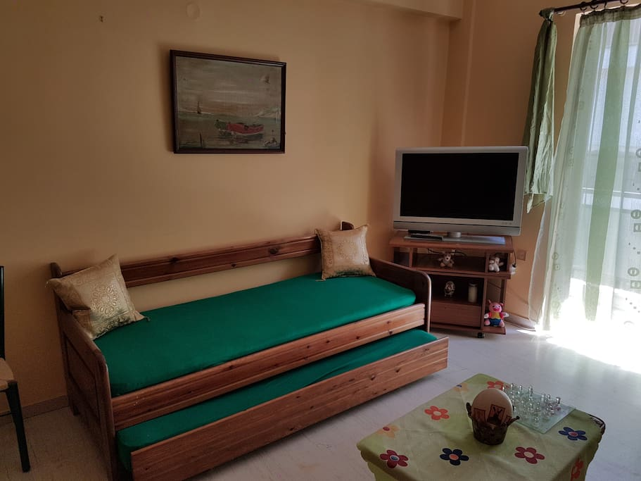 living-room, bedroom