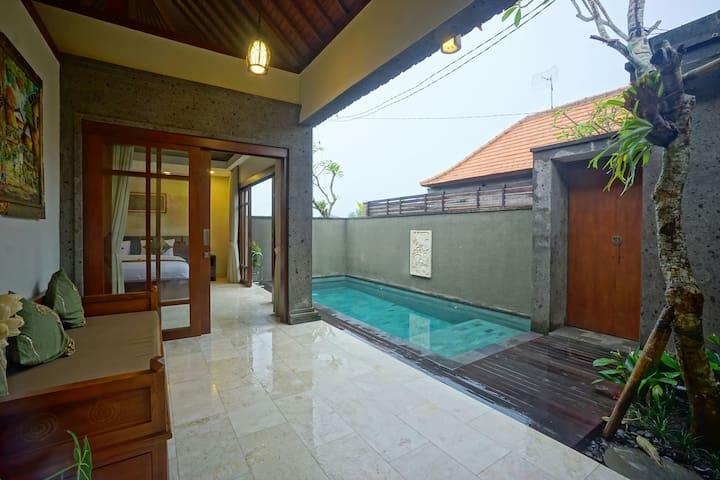 1BR Cozy Villa w/ Private Pool for Honeymooners