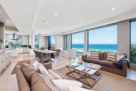 Magnificent Beachfront House, Noosa - Castaways Beach - Dom