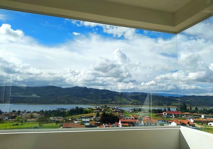 Casa Campestre en Guatavita con espectacular vista