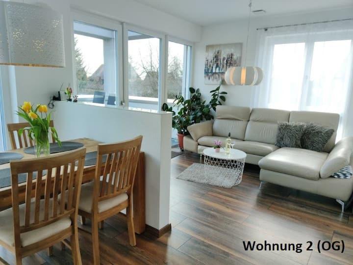 Ferienhaus Stahl (Muhr am See), Ferienwohnung (57qm) mit Balkon für drei Personen