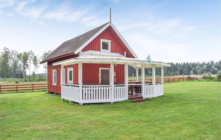 Awesome home in Vimmerby with 1 Bedrooms