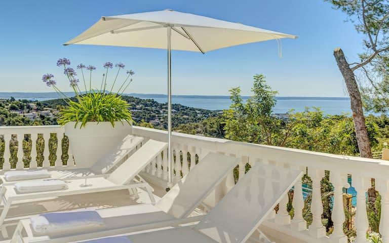 Villa Clausen - Pool Villa - Portals - Costa d'en Blanes - Huis